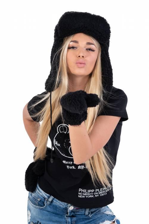 Шапка-ушанка, цвет Черный