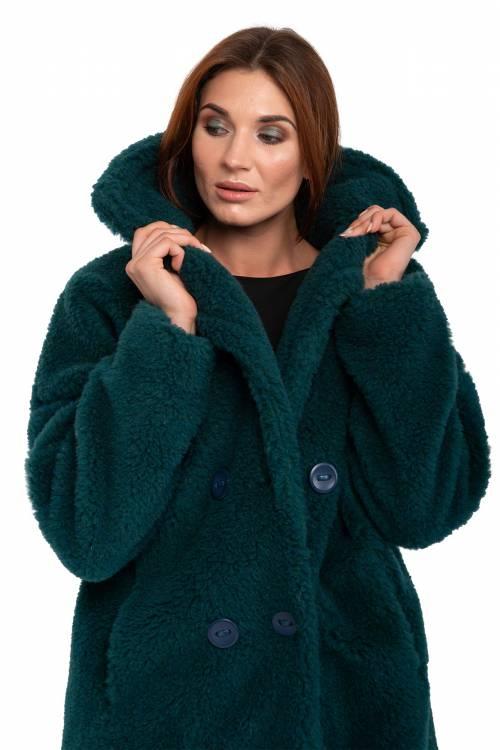 Экошуба GLAMOUR, цвет зеленый