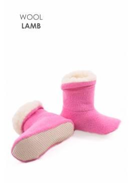 Сапожки детские розовые