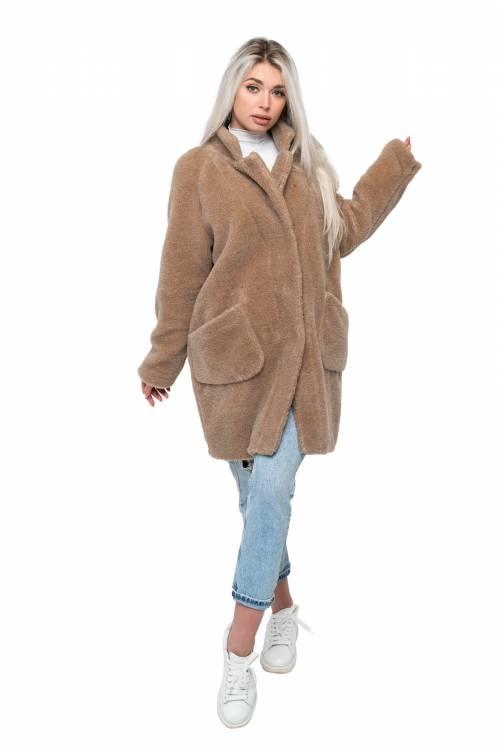 """Пальто """"BARREL"""" из верблюжьей шерсти"""