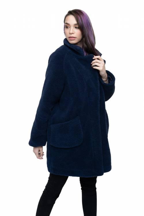 """Пальто """"BARREL"""" из овечьей шерсти"""
