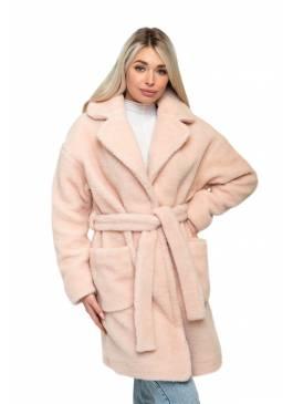 """Пальто """"ELEGANT"""" (цвет Пудра)"""