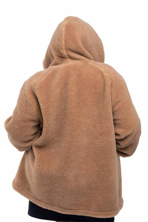 Кардиган меховой XXL, верблюжья шерсть