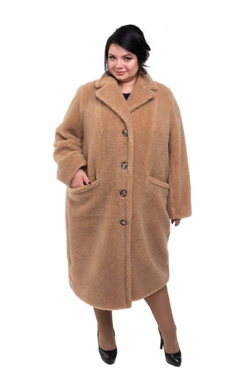 Пальто Классика XXL+ (верблюжья шерсть)