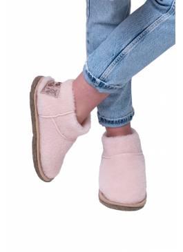 Угги домашние UGG BOOTS, цвет Пудра