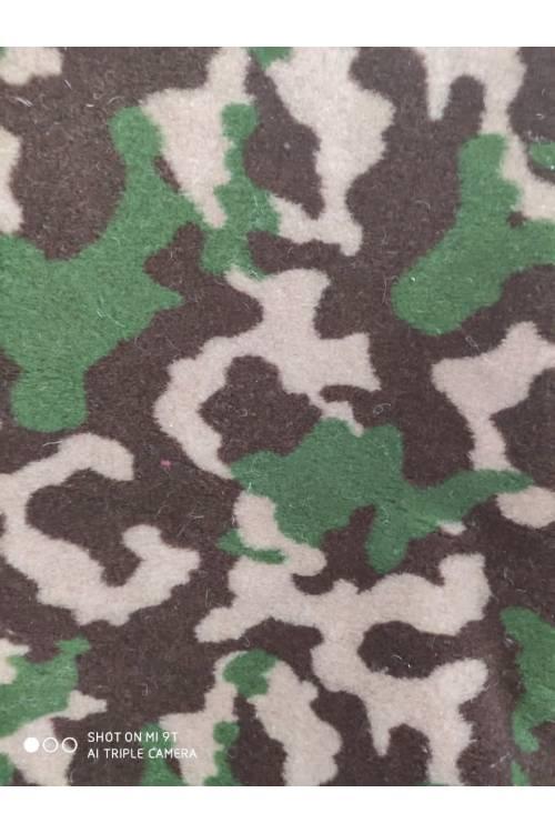 """Мех для курток, шуб. Цвет """"Хаки"""" (зеленый камуфляж)"""