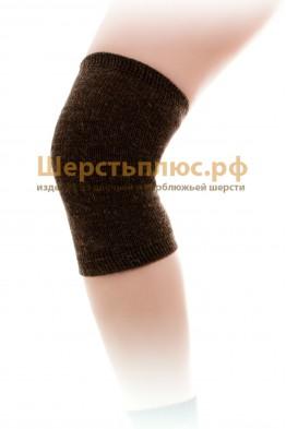 Наколенник/налокотник из верблюжьей шерсти № 1 (узкий - 20-35 см)