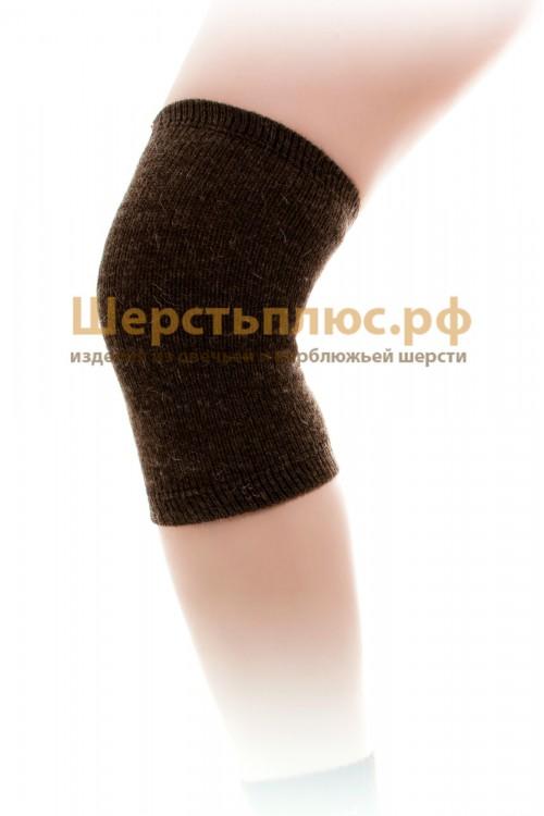 Наколенник/налокотник из 100% верблюжьей шерсти № 2 (широкий - 35-55 см)