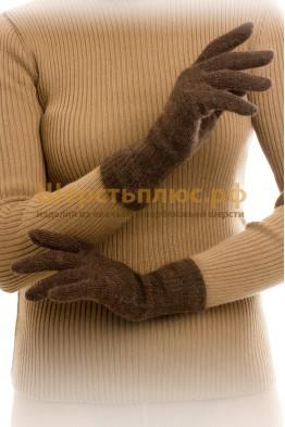 Перчатки однослойные верблюжья шерсть.
