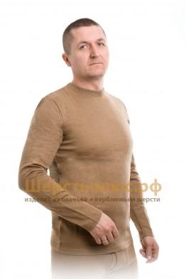 Майка мужская вязаная с длинным рукавом