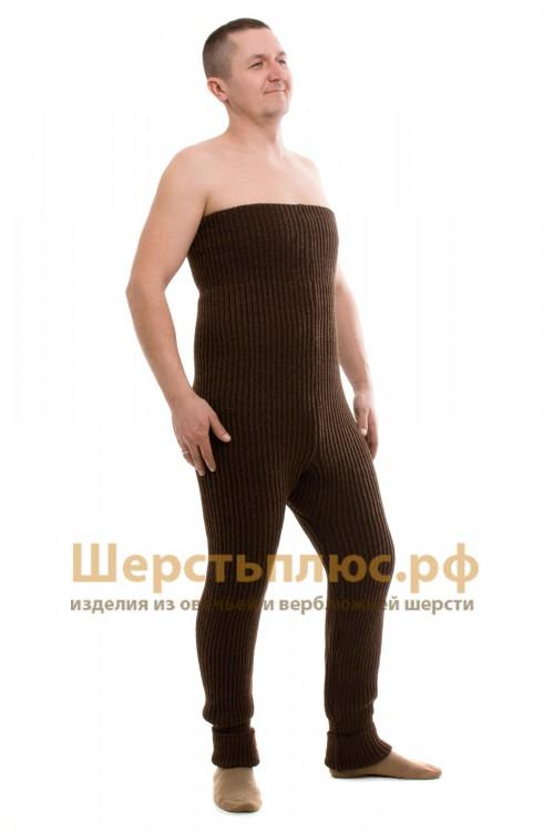 Водолазный костюм из верблюжьей шерсти (комплект) свитер и кальсоны