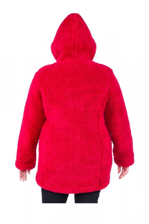 """Куртка из овечьей шерсти """"СИБИРЬ"""" (размер 52-54) с капюшоном"""