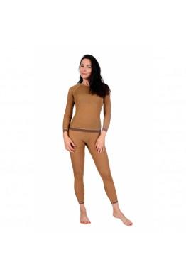 Фуфайка (термо) женская однослойная из верблюжьей шерсти