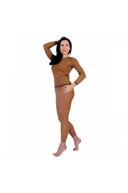 Кальсоны (термобелье) женские однослойные из верблюжьей шерсти