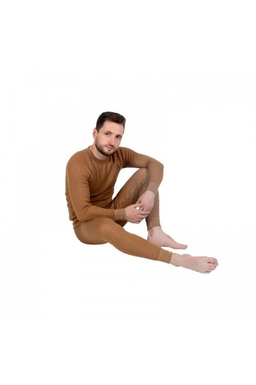 Кальсоны (термобелье) мужские однослойные из верблюжьей шерсти