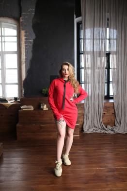Спортивное платье, RED, цвет - КРАСНЫЙ
